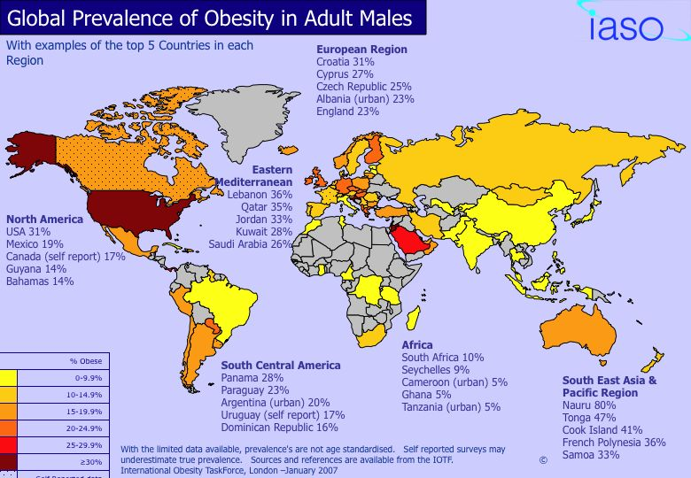 The Prevalence Of Overweight And Obesity In Adults And Children The Facts Motive8 North